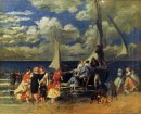 The Return Of The Boating Party 1862