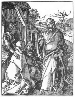 christ taking leave of his mother 1511