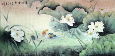 Lotus - Chinesse Painting