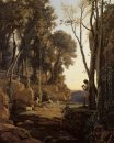 Landscape Setting Sun The Little Shepherd 1840