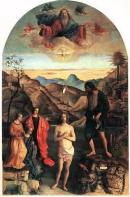 Baptism Of Christ St John Altarpiece 1502 2