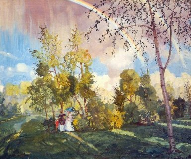 Landscape With A Rainbow 1919