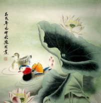 Lotus-Yuanyang - Chinese Painting