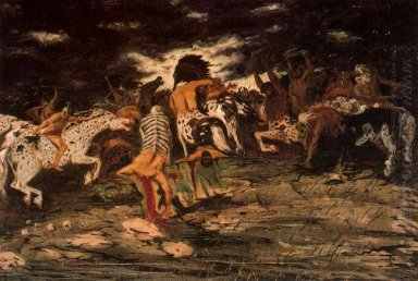 The Battle Of Lapiths And Centaurs