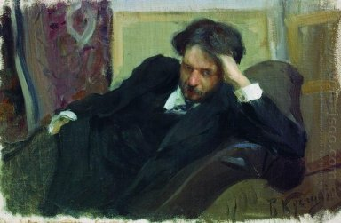 Portrait Of D F Bogoslovsky 1902
