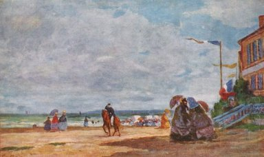 Strand In Trouville 1863