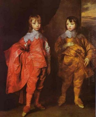 george villiers 2nd duke of buckingham and his brother lord fran