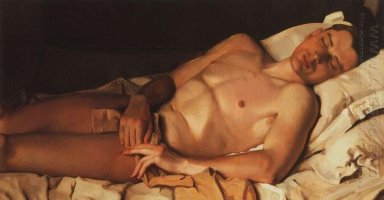 Naked Young Man B Snezhkovsky