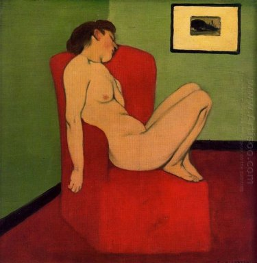 Seated Female Nude 1897