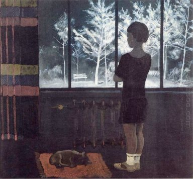 the girl at the window winter 1931