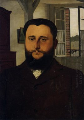 Portrait Of Thadee Nathanson 1897