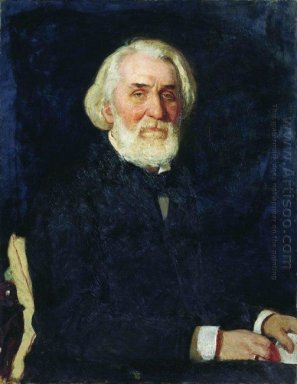 Portrait Of Ivan Turgenev 1879