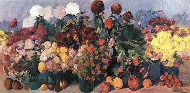 Autumn Flowers And Fruits 1939