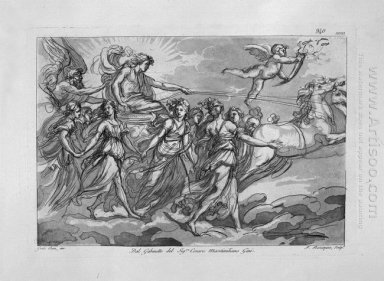 The Chariot Of The Sun From Aurora Of Guido Reni