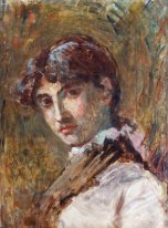 Portrait of a Lady, probably Do?a Isabel Oller, the artist's sis