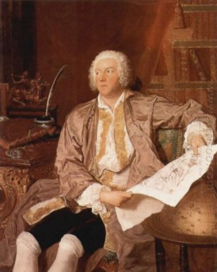 Portrait Of Carl Gustaf Tessin