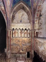 View Of The Frescoes In The Left Transept 1283