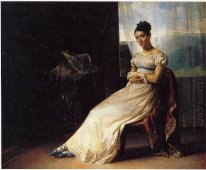 Portrait Of Laura Bro 1820