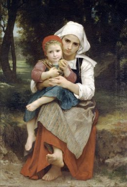 Breton Brother And Sister 1871