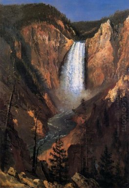 lower yellowstone falls 1881