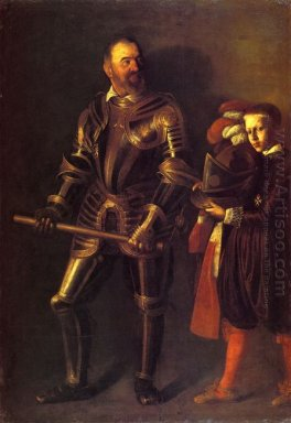 Portrait Of Alof De Wignacourt And His Page 1608