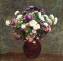 Asters In A Vase 1875