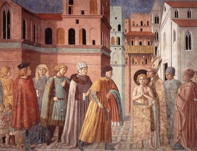 Renunciation Of Worldly Goods And The Bishop Of Assisi Dresses S