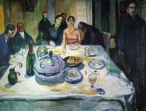 The Wedding Of The Bohemian Munch Seated On The Far Left 1925