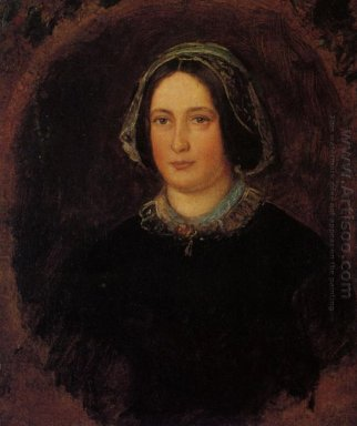 Portrait Of Mrs William Evamy The Artists Aunt