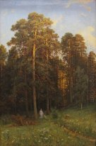 At The Edge Of A Pine Forest 1882