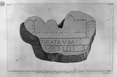 The Roman Antiquities T 4 Plate Xxvi Another Plan Of The Theatre