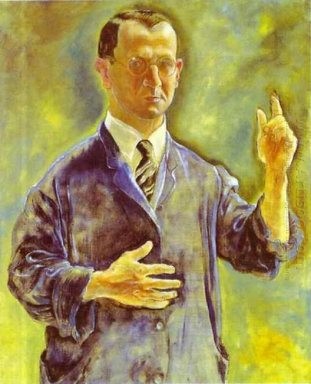 Self Portrait Admonishing 1927
