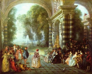 the pleasures of the ball 1714
