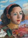 Surrealistic Portrait 1947