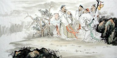 Say goodbye-Chinese Painting