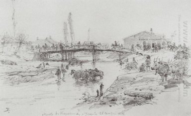 Bridge On The River Cuprija In Paracin 1876