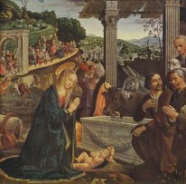 Adoration Of The Shepherds 1485