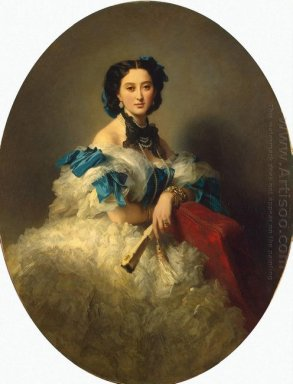 Portrait Of Countess Varvara Musina Pushkina