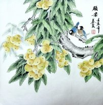 Fruits&Bird - Chinese Painting