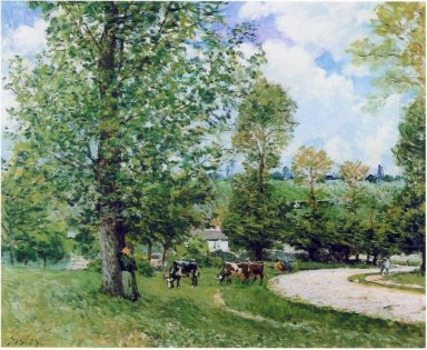 cow pasture near louveciennes 1875
