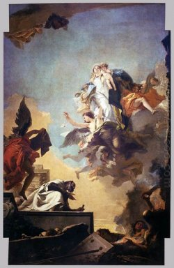 Apparition Of The Virgin To St Simon Stock 1749 1