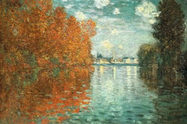 Autumn Effect At Argenteuil 1873