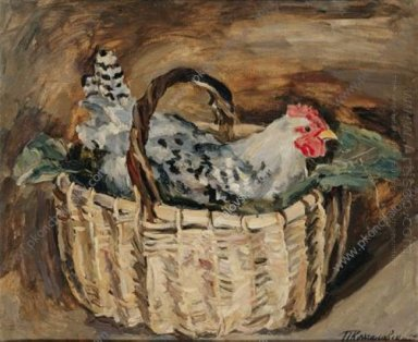 Cock In A Basket 1930