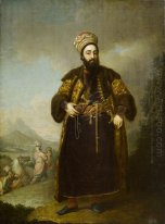 Portrait Of Murtaza Kuli Khan Brother Of Aga Mahommed The Persia