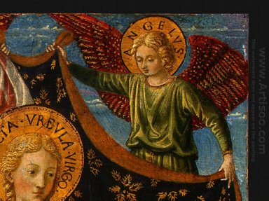 Saint Ursula With Angels And Donor Detail