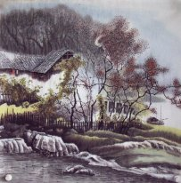 House - Chinese Painting