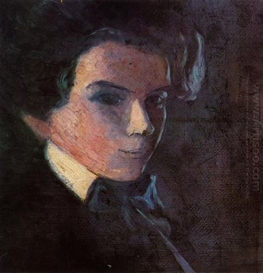self portrait facing right 1907