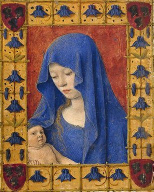 Mary Holding The Christ Child
