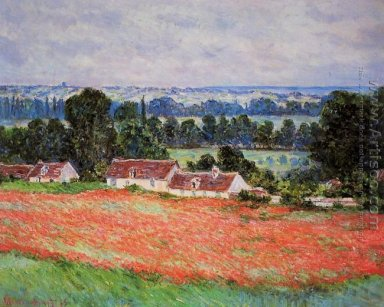 Field Of Poppies, Giverny