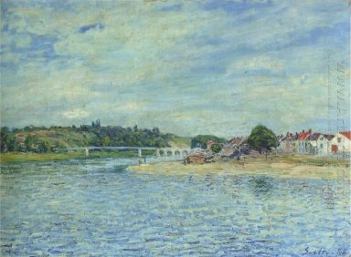 the seine at saint mammes 1888